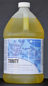 Trinity, a cleaner and deodorant