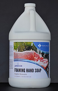 Foaming hand soap, apple blossom-scented