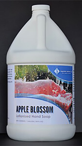Apple blossom, a hand soap