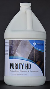 Purity HD, a heavy duty cleaner and degreaser